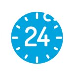 We are open 24 hours a day 7 days a week - call us now for help!