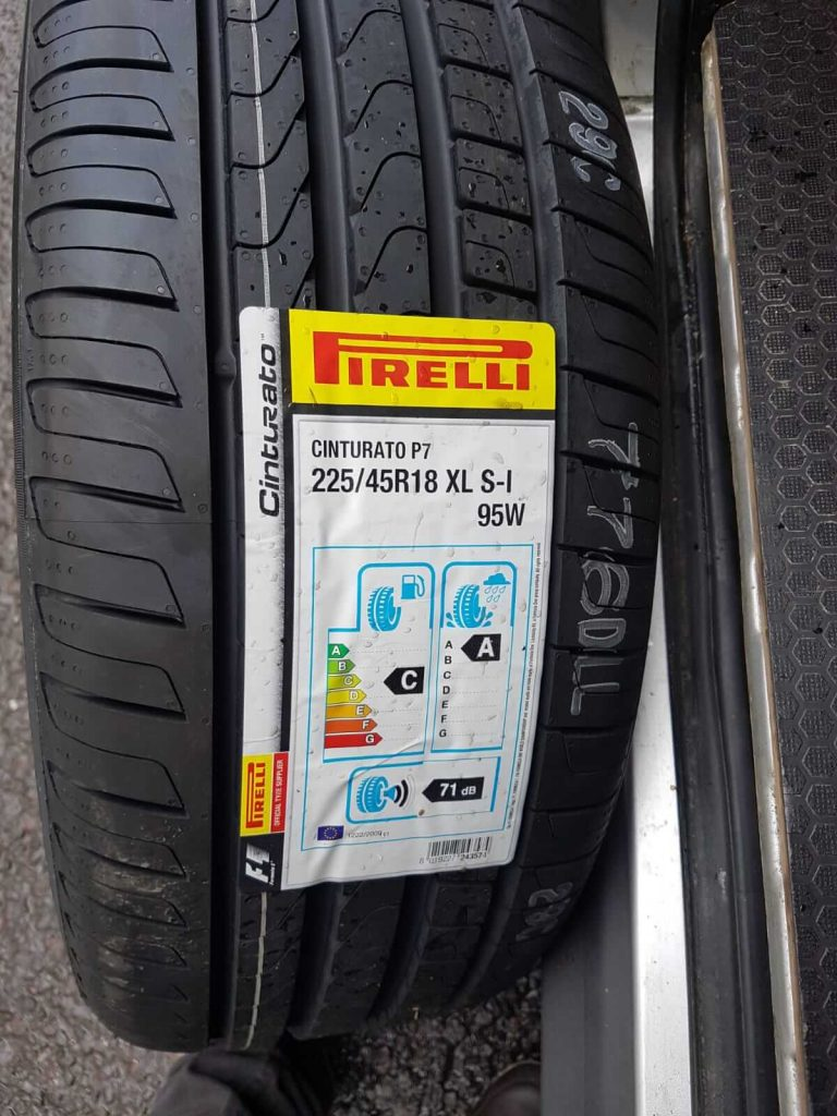 New Pirelli tyre reading for tyre rotation service