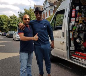 Ian Wright is a happy customer after great job from 24 hour mobile tyre fitting company