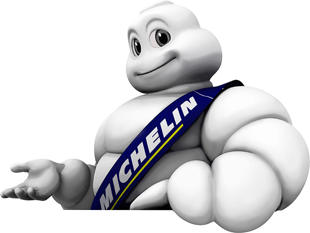 The Michelin Man tyre mascot